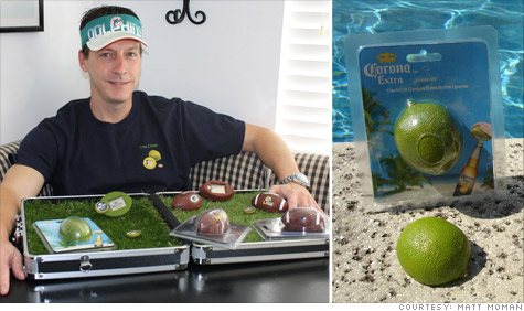 Matt Moman, an independent entrepreneur, is struggling to find a U.S. manufacturer to make his Corona  Extra Lime bottle openers.