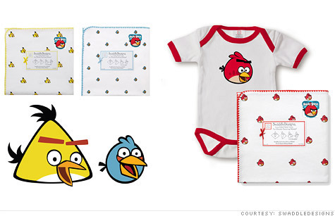 SwaddleDesigns, a Seattle-based small business, scored first-ever license to make baby products for the mega-popular Angry Birds brand.