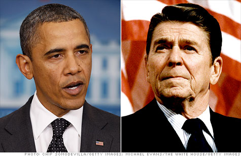 Obama vs. Reagan: A tale of two recoveries