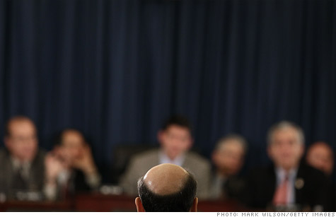 Fed Chairman Ben Bernanke testifies before the House Budget Committee last week.