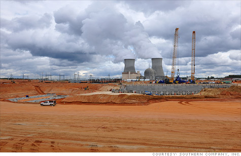 The Nuclear Regulatory Commission is set to approve the construction of two new reactors at Georgia's Vogtle plant, seen here. It would be the first new construction license for a reactor granted in over 30 years.