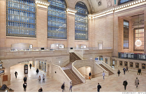 Apple's Grand Central Terminal store in New York will be the site of a protest on Thursday from customers seeking reforms in how Apple's overseas suppliers, like Foxconn, treat their factory workers.