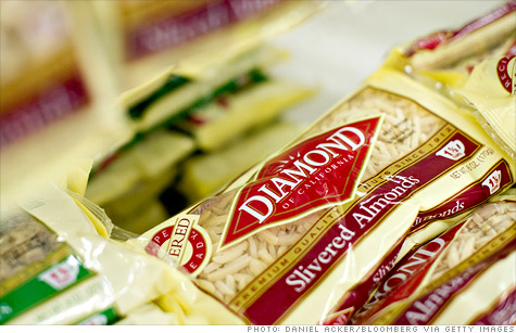 Diamond Foods replaced its CEO and CFO over accounting problems involving payments to walnut farmers.