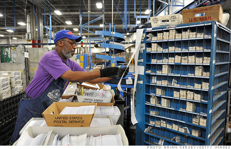 The U.S. Postal Service renewed its pleas for legislative support Thursday as the floundering agency reported another massive quarterly loss.