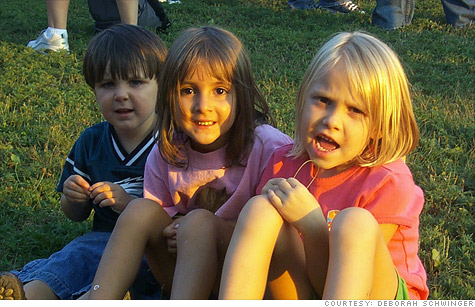 Deborah Schwinger received a $24,300 tax refund last year after adopting two children, Matthew (left) and Lizzy (middle). But getting the adoption tax credit from the IRS wasn't easy.