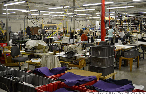 More U.S. small businesses are steering their orders to American factories, such as Tennessee-based Bristol Custom Solutions, as costs go up in China.