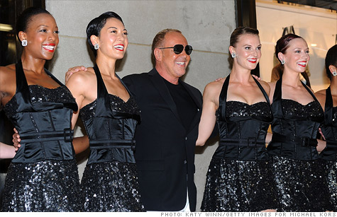 Shares of the Michael Kors Holdings took off Tuesday after the Project Runway judge's newly-public firm posted stellar quarterly earnings.