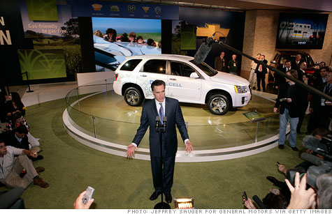 Romney: U.S. should sell GM stake