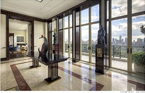 New york city apartment sells for a record 88 million for Penthouses for sale in nyc