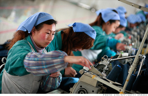 Chinese manufacturing growth has continued to grow, but at a slow pace.