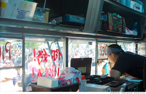 Rising gas prices could force Lawrence Lie, co-owner of Los Angeles food truck Don Chow Tacos, to change how he operates.