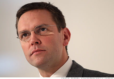 News Corp.'s James Murdoch.