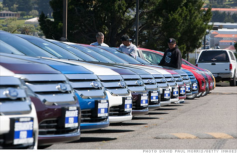 With gas prices surging, car sales were on pace for their best month in four years in February.