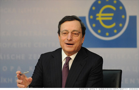 ECB president Mario Draghi has been trying to help stabilize banks and boost lending.