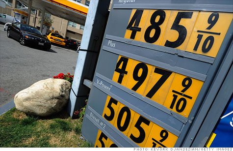Gas prices eased Tuesday in AAA's national survey, but prices still top $4 in some U.S. cities.