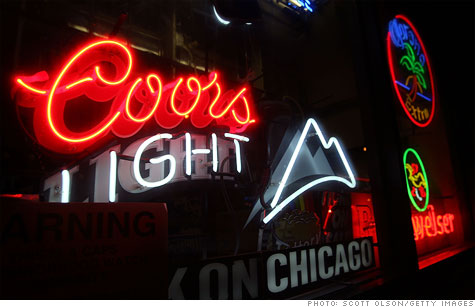 Molson Coors Brewing Company unveiled a new, iced-tea-flavored version of Coors Light Tuesday in a presentation to analysts.
