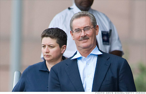 R. Allen Stanford in a 2009 file photo taken soon after federal financial fraud charges were brought against him. A jury in Houston found him guilty on 13 of 14 counts.