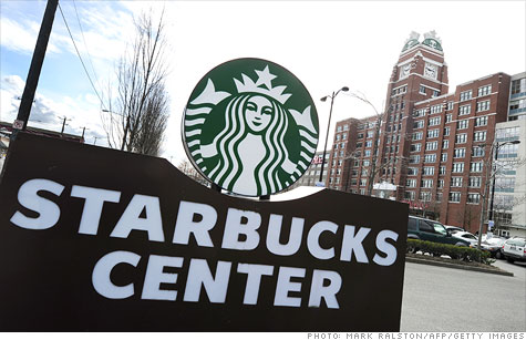 Starbucks unveiled its own single-cup home-brewing machine Thursday, sending shares of competitor Green Mountain Coffee Roasters reeling in after-hours trading.