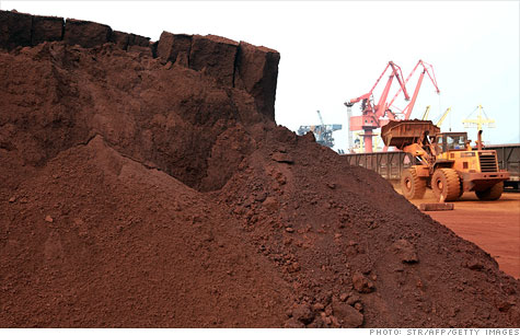 China's limits on exports of rare earths minerals Tuesday became the latest trade dispute between China and the United States.