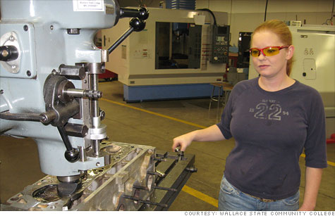 As demand for high-skilled workers spikes, some manufacturing trade schools are smashing records and boasting 100% job placement for students.