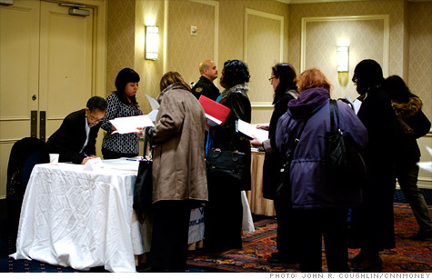 Claims for initial unemployment benefits match four-year low