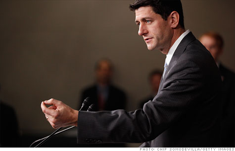 House budget chief Paul Ryan's budget proposal, due out Tuesday, will call for cutting tax brackets to just two - 10% and 25%.
