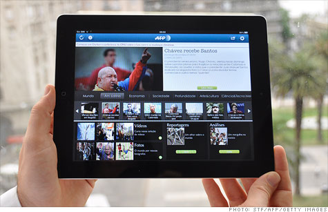 More than half of tablet owners say they read news on their device every day.