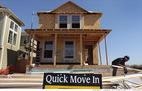 Builders are anticipating a strong housing construction season.