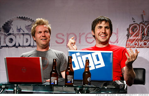 Digg founder Kevin Rose (right) has joined Google to work on its social products, leaving Milk behind.