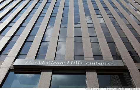 McGraw-Hill is one of many companies considering buyout of a division because of renewed interest from private equity firms.