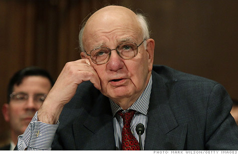 Obama economic advisor Paul Volcker says the namesake rule, which aims to ban risky trading by banks, will limit future federal bailouts.