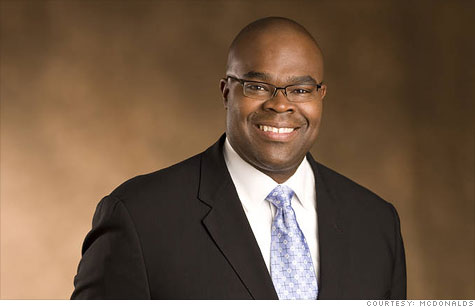 McDonald's promotion of Don Thompson will make one of only six black CEOs of a Fortune 500 company.