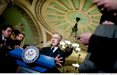 Senate Majority Leader Harry Reid called the bill to help IPOs