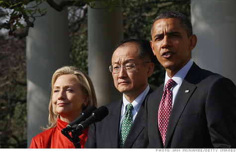Dr. Jim Yong Kim was nominated by President Obama on Friday to be the next president of the World Bank.
