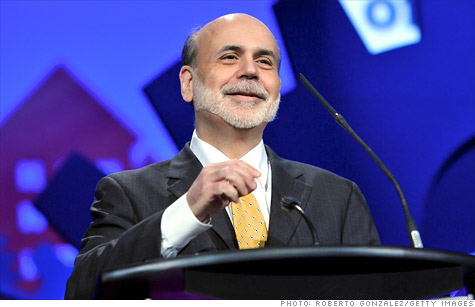 Federal Reserve Chairman Ben Bernanke said that job market gains are healthy but may not be sustaiinable given the overall sluggish economy.