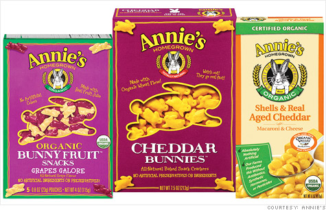 Organic macaroni & cheese maker Annie's is said to be the hottest IPO in a busy week with 10 companies expected to go public.