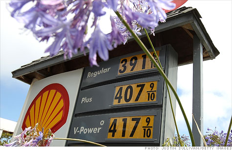 Average price of a gallon of gas pulls to within a dime of the $4 mark, according to AAA.