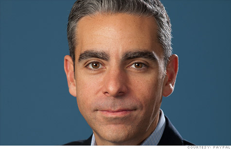 PayPal's new CEO, David Marcus, joined the company when it acquired his startup, Zong.