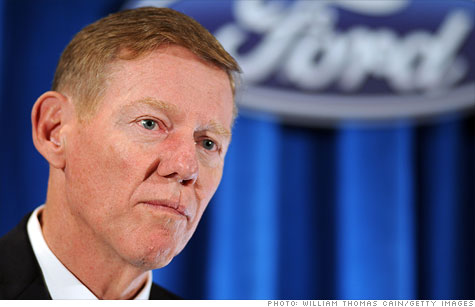 Ford CEO Alan Mulally got a $3 million pay raise last year to $29.5 million.