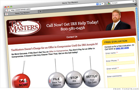 TaxMasters, the Houston-based tax consultation firm whose ads were once a TV fixture, has been ordered along with its founder to pay $195 million on charges that it defrauded customers nationwide.