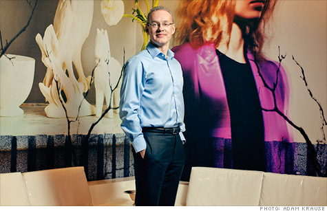 Kevin Ryan at the Gilt Groupe headquarters in New York City