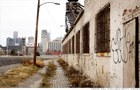 A declining tax base has left Detroit in a deep fiscal hole and at risk of a state takeover.