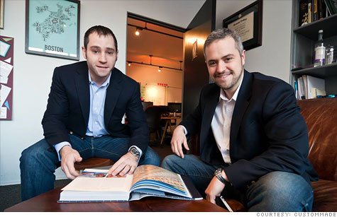 CustomMade cofounders Seth Rosen and Mike Salguero are building a one-stop online shop for handcrafted goods.