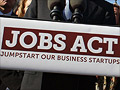 'JOBS Act opens fundraising doors for small firms' from the web at 'http://i2.cdn.turner.com/money/2012/04/05/smallbusiness/jobs-act/jobs-act-new-law.gi.01.jpg'