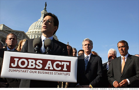 The Jumpstart Our Business Startups Act is a new law that provides companies more access to fundraising, new kinds of investors and fewer regulatory burdens.