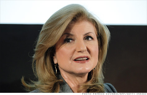 Arianna Huffington has assumed additional duties at AOL.