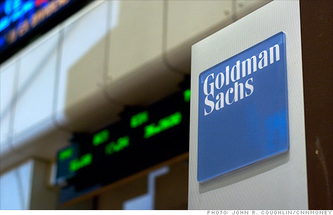 Goldman Sachs' earnings more than doubled in the first quarter, topping forecasts.