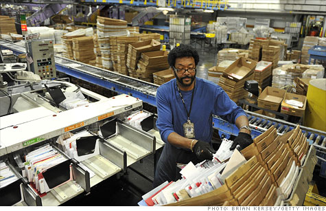 The Senate began debate on a bill to save the indebted U.S. Postal Service, including a new idea that would save nearly half of the processing plants slated to be closed next month.