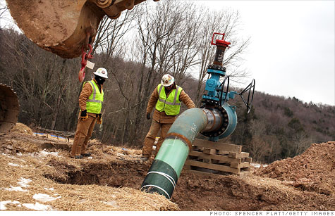 Obama's EPA requires the oil and gas industry to capture air pollution released during well construction, including during the fracking process. But rules give industry time to comply.