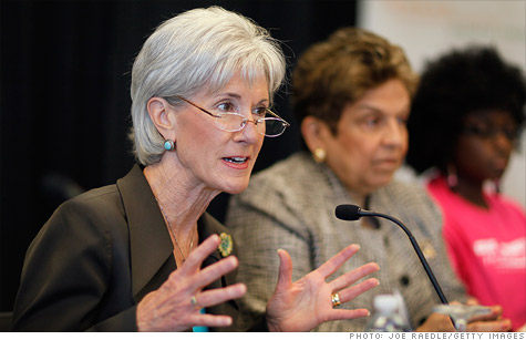 GAO blasts an $8 billion Medicare program, a blow to the Obama's health agency, run by Secretary of Health and Human Services Kathleen Sebelius.